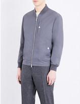 Brunello Cucinelli Popper-fastened shell jacket
