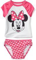 Old Navy 2-Piece Disney© Minnie Mouse Rashguard Set for Toddler