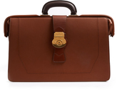 Burberry Trench textured-leather briefcase