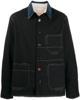 Federico Curradi loose-fit striped jacket