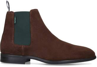 Paul Smith Suede Gerald Chelsea Boots