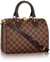 Louis Vuitton Damier Ebene Canvas Speedy Bandouliere 25 N41368