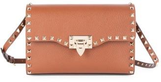 Valentino Garavani Small Rockstud Leather Crossbody Bag