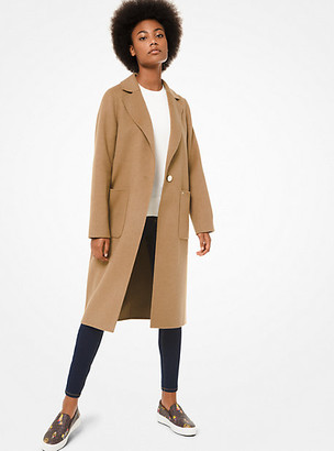 MICHAEL Michael Kors MK Wool Coat - Black - Michael Kors
