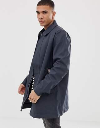 Hunter Rubberised Coat in Navy