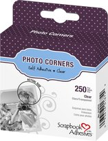 3L Photo Corners Self Adhesive, 250/Pkg, 3/8-Inch