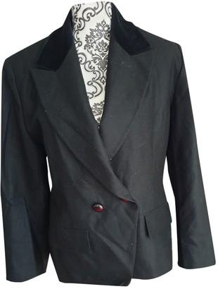 Georges Rech Black Wool Jacket for Women