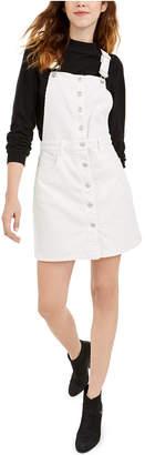 Oat Corduroy Overall Jumper Dress