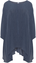 La Stampa Plus Size Textured oversized top