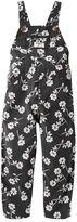 Osh Kosh Toddler Girl Floral Corduroy Overalls