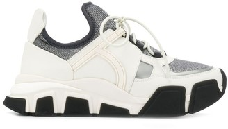Salvatore Ferragamo Chunky Lo-Top Sneakers