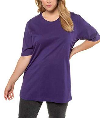Ulla Popken Women's Plus Size Basic Short Sleeve Tee 20/22 486910 83-46+