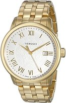 Versace Men's VQS060015 Business Gold Ion-Plated Stainless Steel Watch
