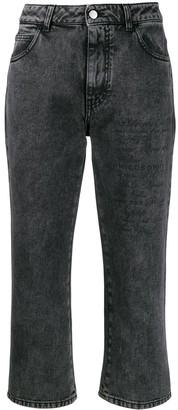 Philosophy di Lorenzo Serafini Cropped Denim Jeans