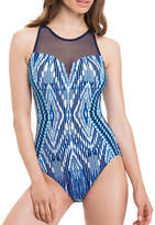 Profile By Gottex One-Piece High Neck Swimsuit