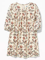 Old Navy Floral-Print Swing Dress for Girls
