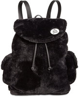 Steve Madden Caleb Faux-Fur Large Backpack