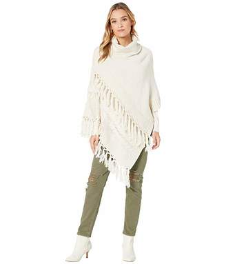 Steve Madden Cable Knit Poncho