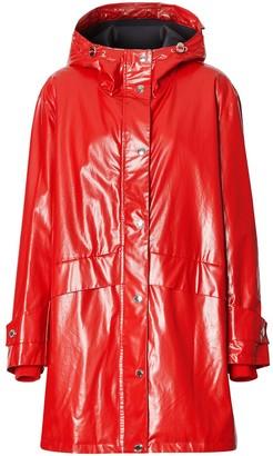 Burberry Horseferry-print parka coat