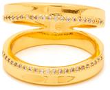 Gorjana CZ Split Shimmer Ring