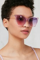 Urban Outfitters Crystal Gradient Cat-Eye Sunglasses