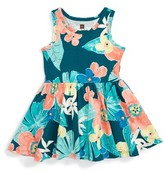 Tea Collection Infant Girl's Coral Fern Tank Dress
