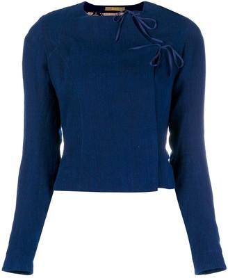 Atelier Bâba handwoven fitted jacket