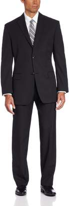 Haggar Men's Big-Tall Big and Tall Multi Bead Stripe 2-Button Center Vent Suit Separate Coat