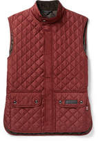 Belstaff Quilted Shell Gilet - Red