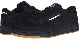 Reebok Club C 85 (Black/White) Men's Shoes