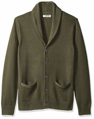 Goodthreads Amazon Brand Men's Soft Cotton Shawl Cardigan