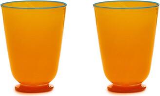 La DoubleJ Opaque Finish Glasses (Set Of 2)