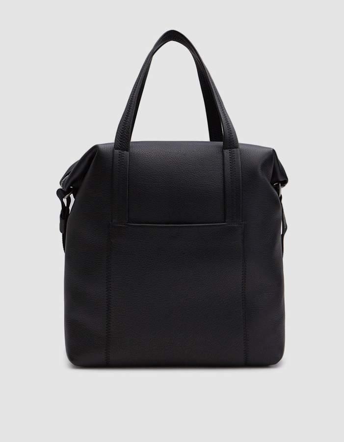 Maison Margiela Soft Grain Leather Helmet Bag
