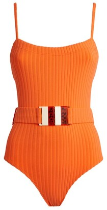 Solid & Striped The Gemma Ribbed Swimsuit