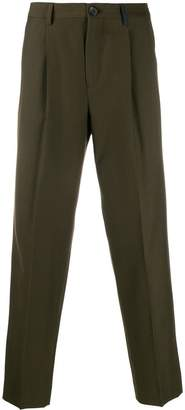 Paul Smith tapered-leg tailored trousers
