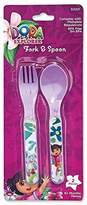 Nickelodeon Dora The Explorer Fork and Spoon Set by
