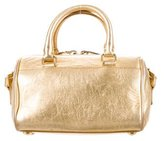 Saint Laurent Metallic Baby Classic Duffle Bag