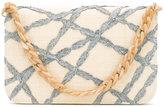 Serpui - woven detail clutch - women - Raffia - One Size