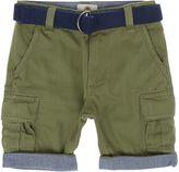 Timberland Boys Belted Bermuda Shorts