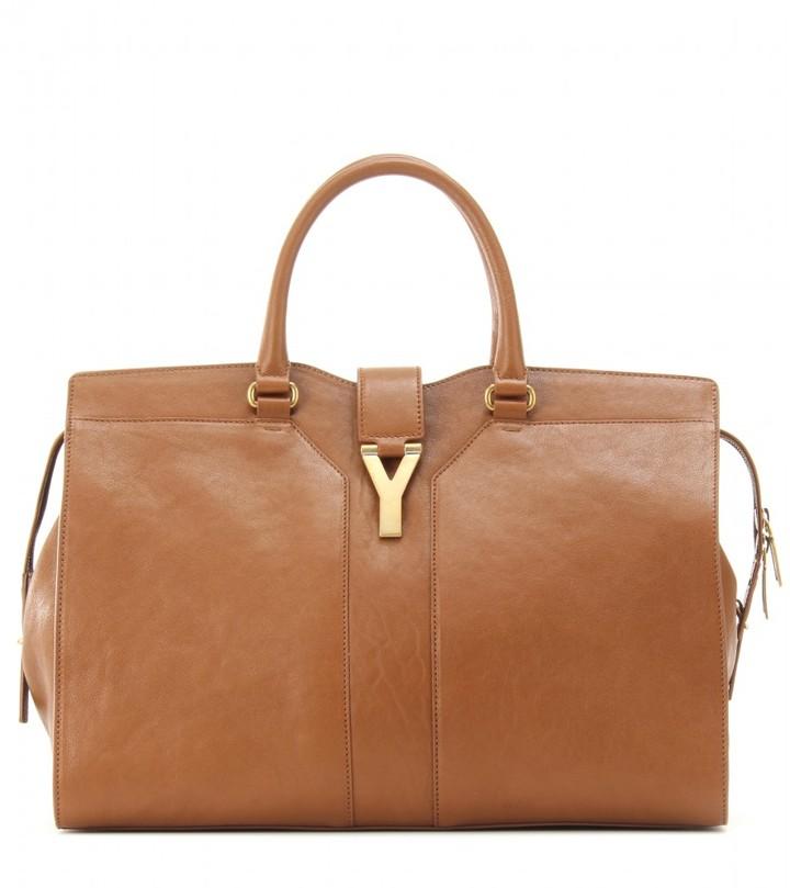 Saint Laurent Large Classique Cabas Y leather tote