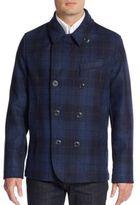 Robert Graham Springville Plaid Double-Breasted Jacket