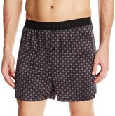 Perry Ellis Men's Techno Neat Print Boxer