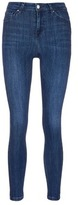 Topshop 'Jamie' high rise whiskered skinny jeans