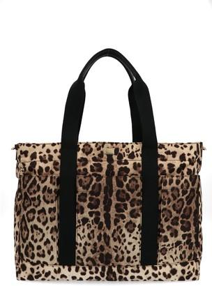Dolce & Gabbana Animal Print Tote Bag