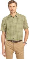 Van Heusen Big & Tall Classic-Fit Grid Button-Down Shirt