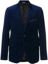 Lanvin contrast collar blazer