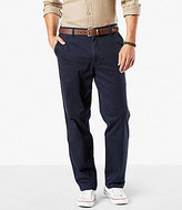 Dockers Washed Khaki Classic-Fit Stretch Performance Pants