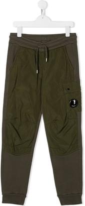 C.P. Company Kids Straight Fit Cargo Pants