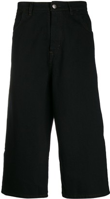 Societe Anonyme Cropped Wide-Leg Jeans