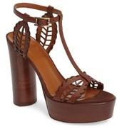 Aquatalia Women's Isadora T-Strap Platform Sandal
